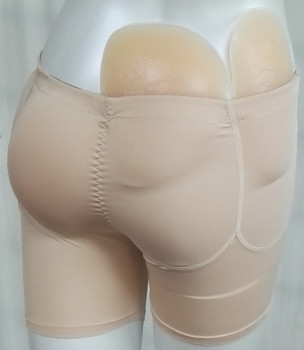 Free Shipping 750g Per Set 4pcs Silicone Hip Pads with Panty for Women Enhancements to be Beauty