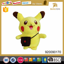 2017 pikachu figure pokemon custom plush stuffed toys