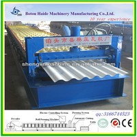 cnc coil wall and roof tile making cold machine for colored steel roll forming