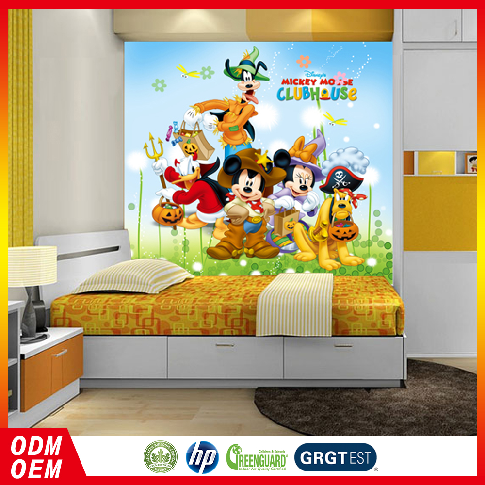 club house of animals Wall Mural for home decor room kids