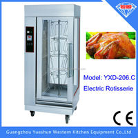 china factory high performance rotary vertical grill rotisserie