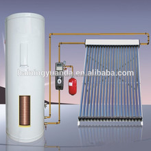 High quality Free standing Rooftop pressurized Split solar water heater