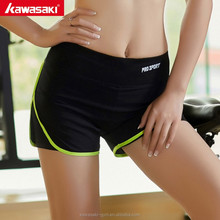 The most popular green colored training yoga compression shorts