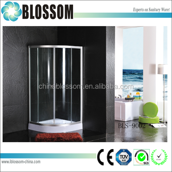 Fashionable Simple design 800 x 800 enclosed shower cubicles price