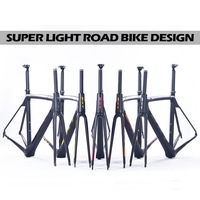 5 color carbon road bike frame Brand BXT super light 700c full chinese carbon frame t800 carbon fiber bicycle frame