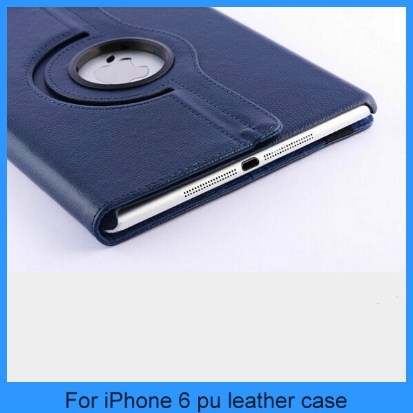 New arrive 360 degrees rotating leather case for ipad air 2/ipad6