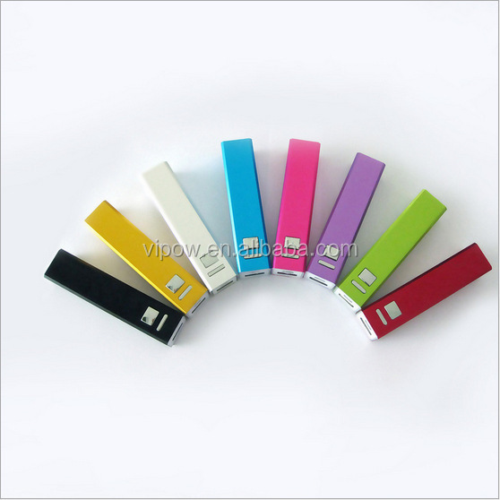 Guangzhou manufacturer cheap power bank 2600mah for promotional
