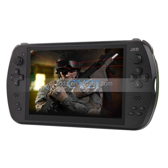 "7"" Quad Core Game Console Player tablet pc JXD S7800 gamepad Android 4.4.4 2G RAM 16GB 1280X800 IPS Dual Came"
