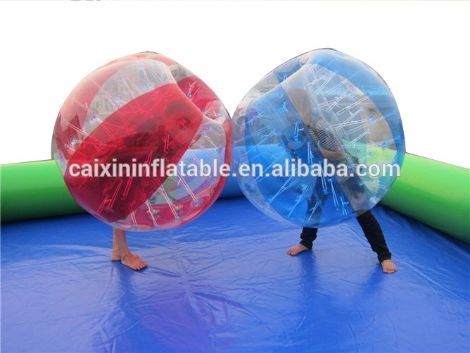 Body Zorb Zorbing Inflatable Human Ball Soccer Bubble