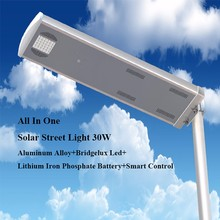 2017 New brand led automatic solar street lightings control with remote control