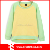 Women's Cotton Pullover Womens Plain Sweatshirt