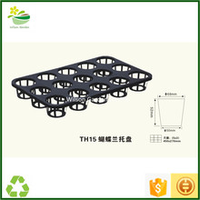 Quality plastic butterfly orchid 15 cells trays saucers containers wholesale