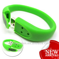 Promotion Cheap Custom Logo Flash Drive USB Memory Bracelet