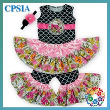 2015Hot Sale!Baby Cheap Clothes Kids Clothing Sets For Toddlers Girls boutique clothing Newborn Girls Summer Outfit