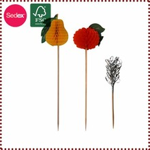 paper product honeycomb toothpick for cake decoration