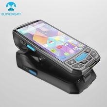 Factory price 2g 3g 4g data collector android handheld pda with printer