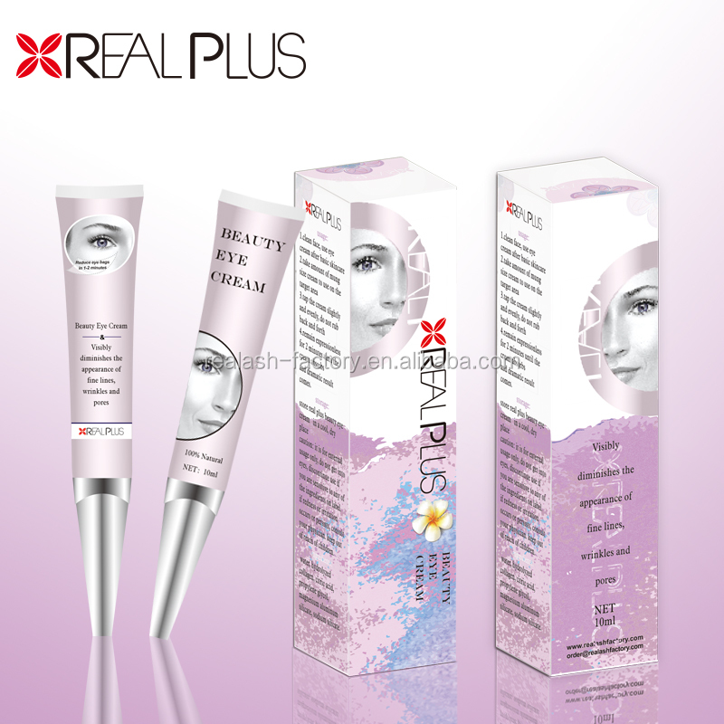 OEM Service Keep Young Aloe Vera Instant Wrinkle Eraser Reduce Eye Bags Anti Ageing Cream Organic