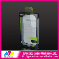 Alibaba China OEM Plastic Clear Mobile Phone Screen Guard Packaging Box