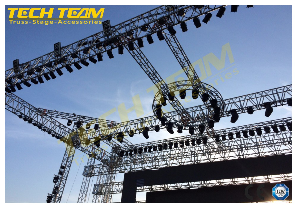 Offer Professional Suggestion and aluminum Stage Truss design From China Truss Supplier