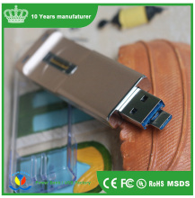 High-tech Fingerprint Pendrives 16GB USB 2.0 Mini Fingerprint Lock USB Flash Drives for Android