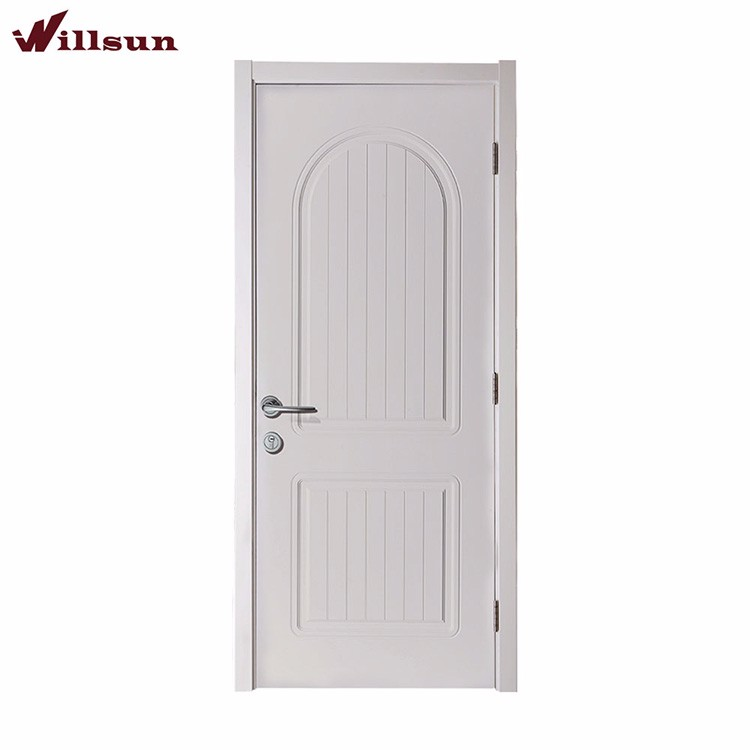Luxuriousness White Paint Interior Wood Doors For Small Spaces