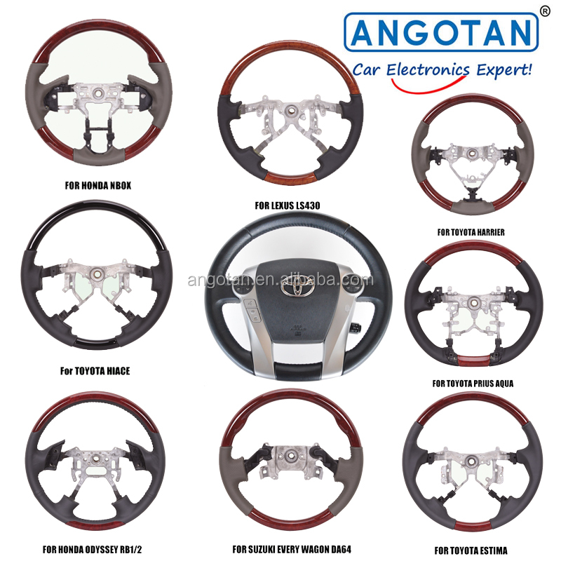 Car Steering Wheel Audio Control