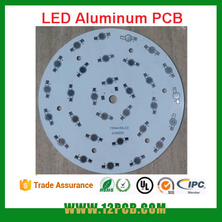Yunjie PCB ,high power ceiling lamp 30W Aluminum plate150 mm tube light LED PCB circuit board
