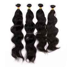 hair weft crochet braids with human hair extension