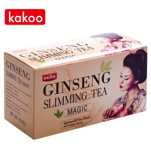 Kakoo ginseng ginger flower anti adipose magic slimming tea