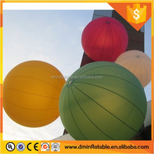 Inflatable Hanging Led Balloon for Hall Decoration/ Big Air Ball