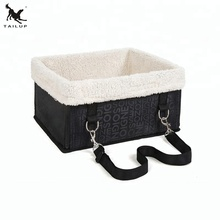 Factory supply pet dog car seat carrier