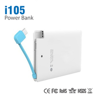 2015 new product electronics 1800mah credit card power bank credit card power bank