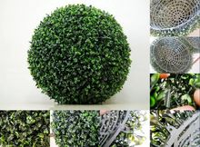Factory Sell Custom Artificial Topiary Trees Artificial Boxwood Topiary Three Ball