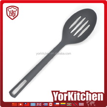 Wholesale Nylon Kitchen Utensil frying slotted serving spoon