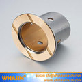 Flange Bimetal Bearing Used For Construction Machines Chassis Apron Wheels Custom-made Flanged Bimetal Bushing