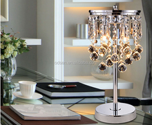 Chinese bedside desk lamp crystal chandelier table lamp