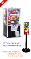 toy capsule vending machine ZJ320(tattoo vending machine)