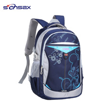 Hot sale anime plush backpack primary school bag