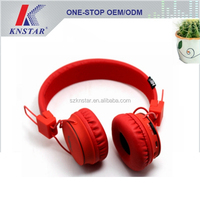 Stereo wireless headphone with mp3 player and FM radio