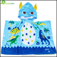 Bath towel kids Hooded Towel elsa and anna Beach Towel baby Girls bathrobe GVKBR1009