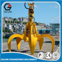 hot sale Hydraulic Orange Peel Grab/bucket for mining excavator