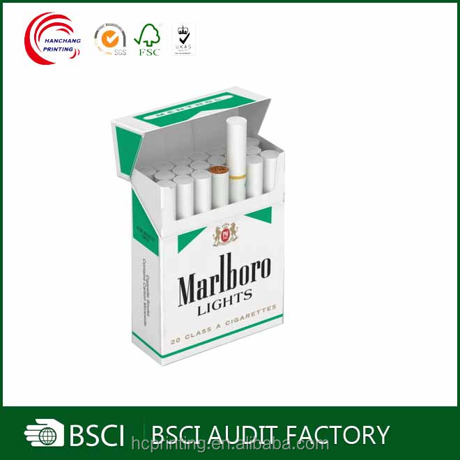 Personalized cheap custom cigarette paper box