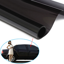Cars Ultra Limo Black Window Tint Film VLT 2% Auto Car House Roll 1.52*30M