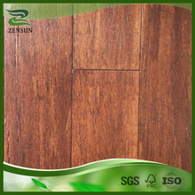 Hot sale click system carbonized coffee strand woven bamboo flooring