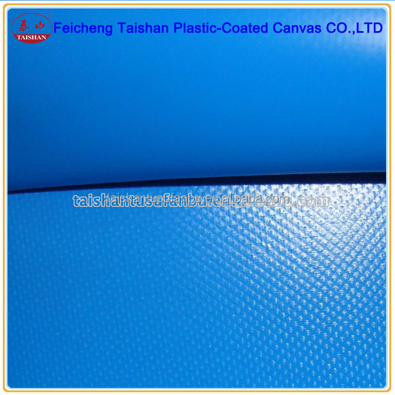 China manufacturer PVC coated fabric, waterproof PVC tarpaulin for truck cover inflatable products