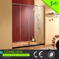 Hot sell frameless glass shower enclosures