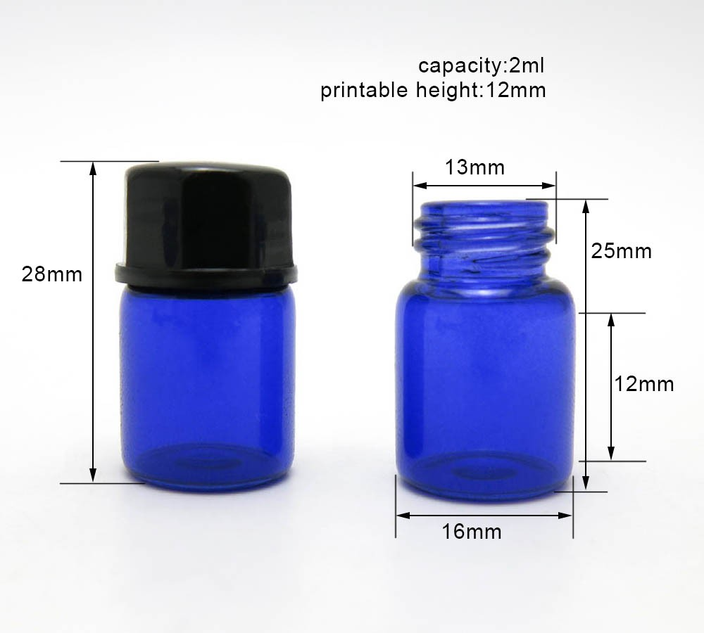 New products sample 2ml vials for perfume liquid oil selling