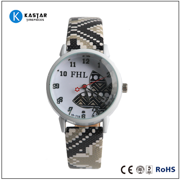 Shenzhen factory designer band your own watch, custom logo watch personalized