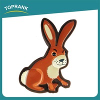 TOPRANK Professional Manufacturer Easy Clean Vinyl Rabbit Dog Toy Pets Walking Dog Toy For Kids