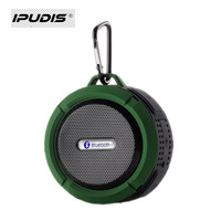 Bluetooth Speaker sucker waterproof outdoor climbing Bluetooth stereo speaker with hook